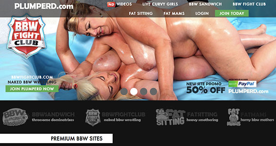 One of the most popular porn sites offering great BBW videos