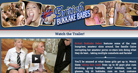 Nice xxx website to access class-A bukkake quality porn