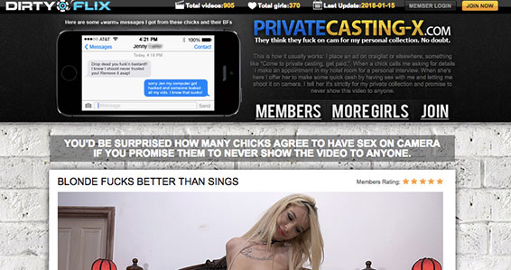 Best porn site to access hot casting quality porn