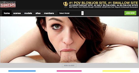 Top adult website to enjoy some stunning deep throat quality porn