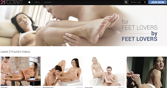 Amazing porn website to have fun with top notch foot fetish content