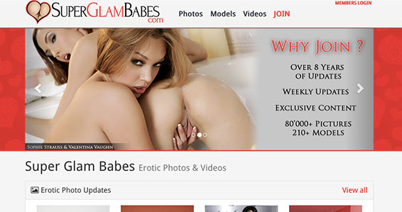 Recommended adult site to watch hot glamcore videos