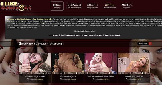 Best xxx website featuring some fine handjob flicks