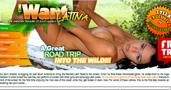Good premium porn site showing hot latina adult content