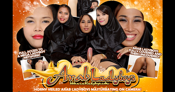 Great paid porn website for Arab ladyboys in hard action.